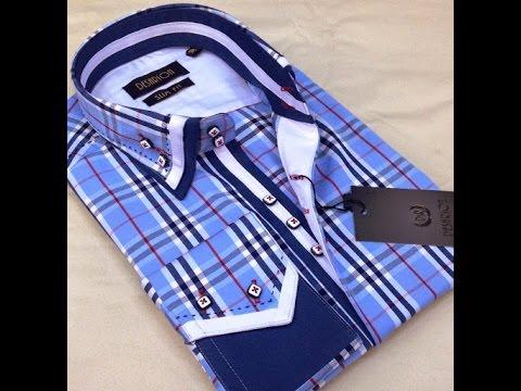 Мужская рубашка Дольче Габбана оригинал и сшитая нами копия .