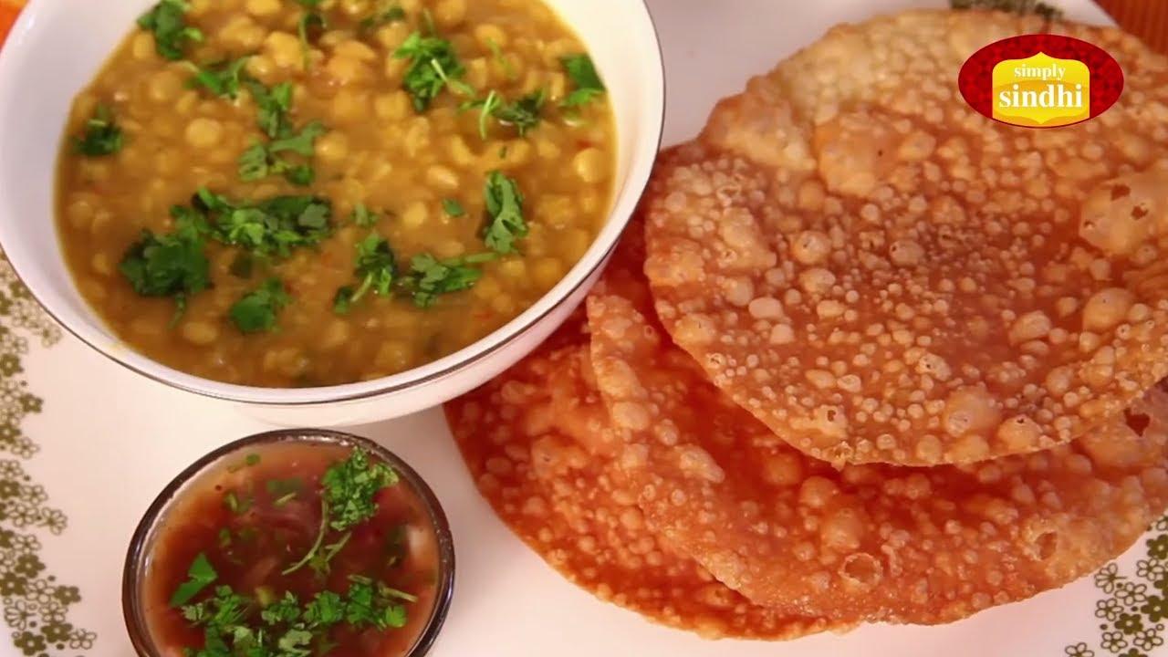 how to eat dal pakwan