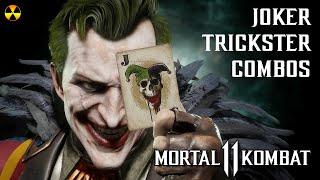 MK11: THE JOKER Trickster Variation Combos - Fatal Blow Cancels