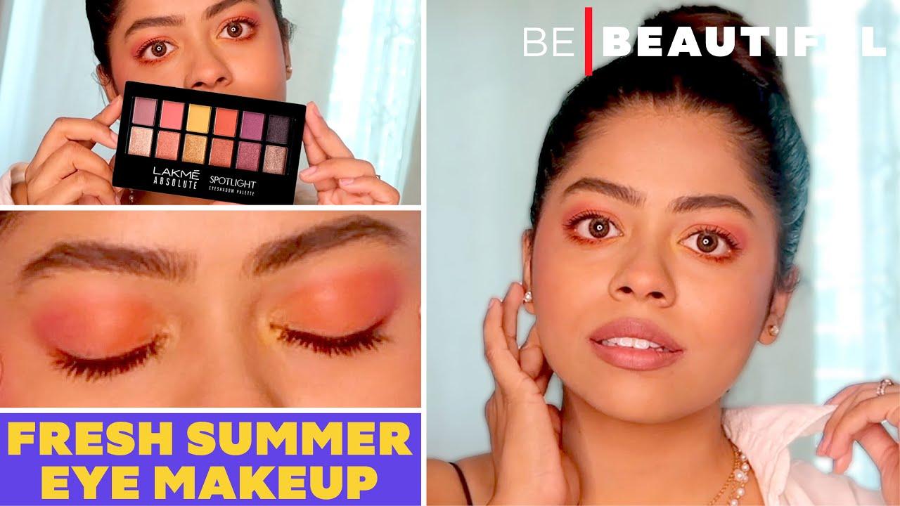 EASY Summer Eye Makeup | How To Apply Eyeshadow | Step-By-Step Eye Makeup Tutorial | Be Beautiful