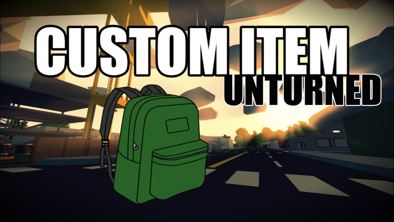 how to get items singleplayer unturned