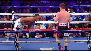 Canelo Alvarez vs Austin Trout highlights