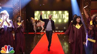 Will Smith's Awesome Tonight Show Entrance by : The Tonight Show Starring Jimmy Fallon