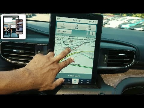 2020 Ford Explorer Infotainment 12.1 Inch Screen