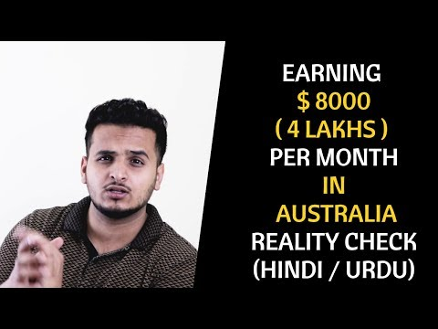 Earning 4 Lakhs A Month In Australia | Reality Check