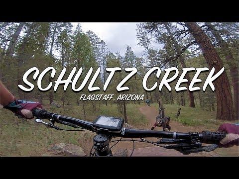 Schultz Creek Trail In Flagstaff Arizona (Top To Bottom)