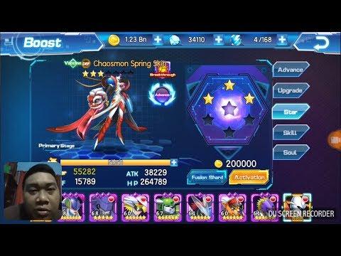 Digital World/Digital Master Digimon Upgrade Chaosmon to 4 Stars Nothing Special 😥