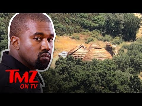 Ashlee - Kanye West May Be Forced to Tear Down Dome-Like Structures At His Home