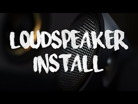 How to install a loudspeaker system in your car