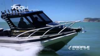 Profile Boats 700H Alloy Aluminium Fishing Boat