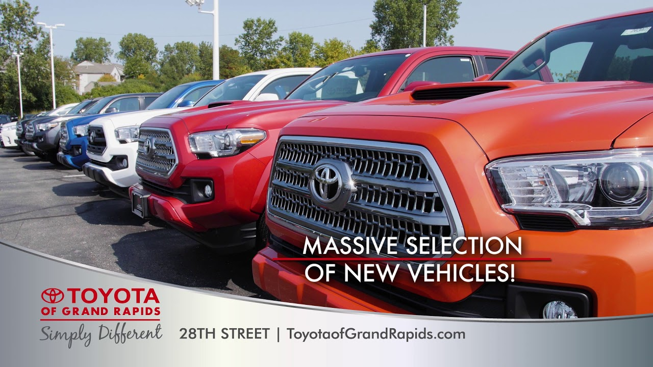 Toyota Grand Rapids >> Ready Set Go Spot A Toyota Of Grand Rapids