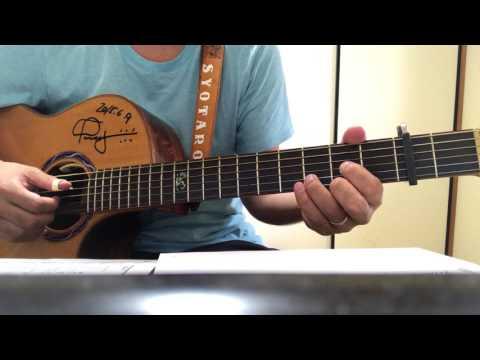 【弾き方解説】「ハッピーエンド」ギター弾き語り用タブ譜