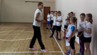 Томск Школа № 37 открытый урок, тема: прыжок в длину с места
