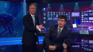 John Oliver Hosts The Daily Show