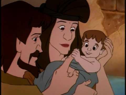 Desenhos Biblicos 30 Vt Moises Do Nascimento Ao Chamado De