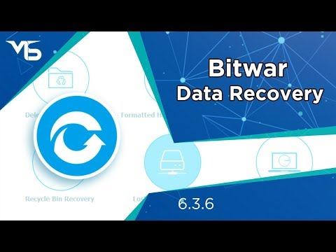 Bitwar Data Recovery  6.3.6 - One Year License.