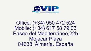 VIP7340 Beachside (2nd line to sand) Villa Mojacar Playa