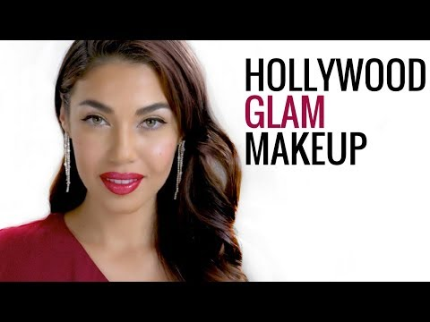 OLD HOLLYWOOD GLAM MAKEUP with a Modern Twist | Eman