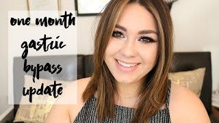 One Month Gastric Bypass Update | Surgery Experience, Stalling and Meals!