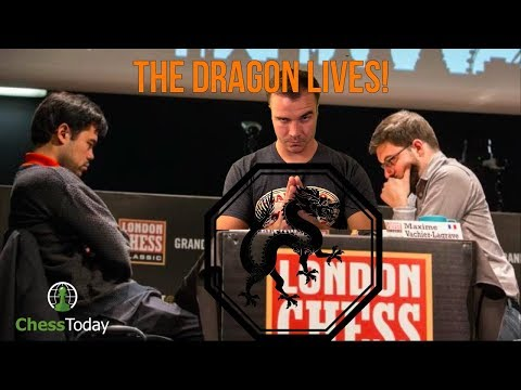 Chess Today: December 4th 2017   MVL vs Nakamura Sicilian Dragon!