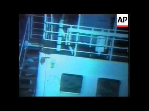 USA: US SUBMARINE/FISHING BOAT ACCIDENT: WRECKAGE