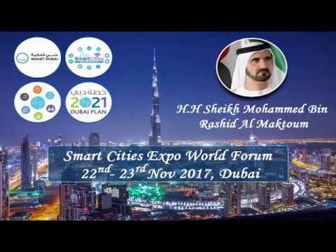 Smart Cities Expo World Forum 2017, Dubai, UAE