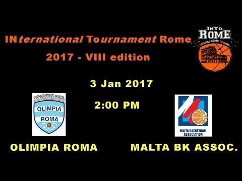 OLIMPIA ROMA vs MBA MALTA