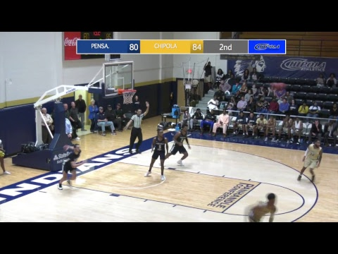 Chipola vs Pensacola State College MBB 2-20-19
