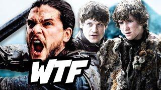 Game Of Thrones Season 6 Episode 9 Rickon Run Zig Zag Q&A