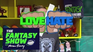 Love/hate: tight end edition | the fantasy show with matthew berry | espn