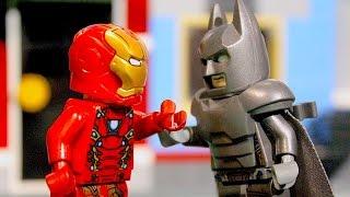 LEGO BATMAN VS IRONMAN  Power-Armor Fight
