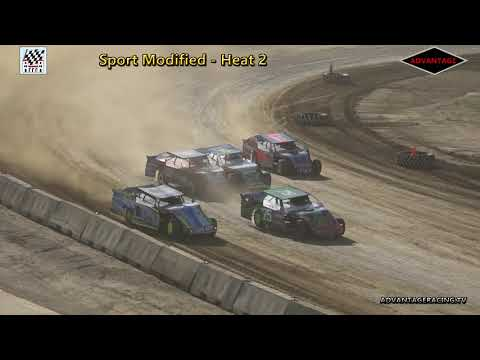 Sport Modified Heats - Clay County Speedway - 7/8/18