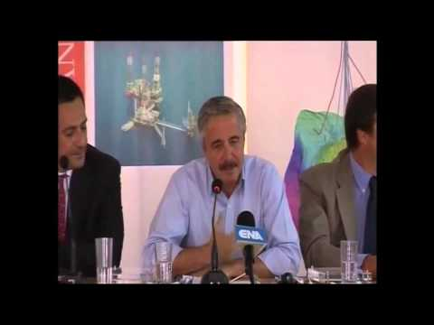 SKAI TV Inauguration of 2013 drilling program in Prinos