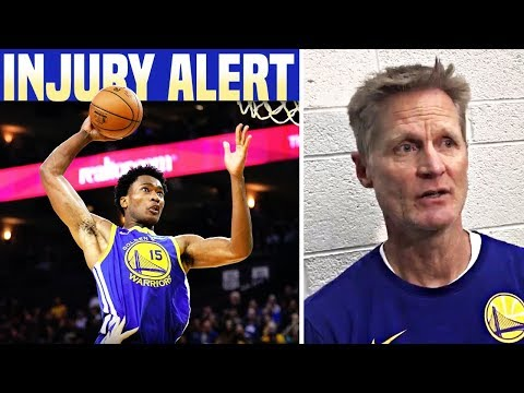 Heartbroken Steve Kerr Reacts To Warriors Center Damian Jones OUT For Season Possibly With Injury?