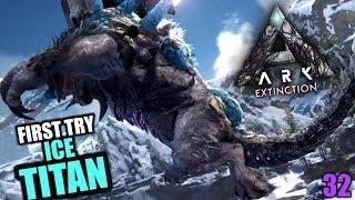 Ark Extinction #32 Eiskalt in die Fresse!   Let's Play Deutsch Gameplay