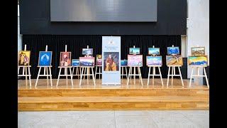 Выставка репродукций картин Николая Рериха в АУЦА