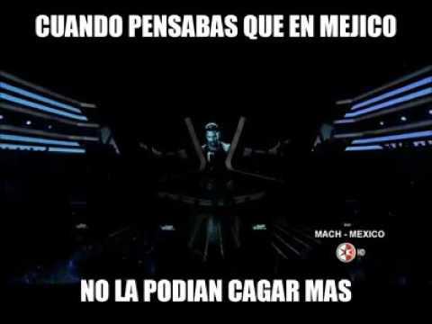Julion Álvarez cantando We Will Rock You xD