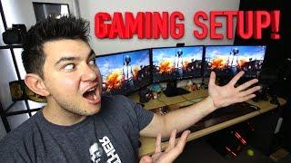 MY GAMING SETUP - Tour of my Apartment & Gaming Setup!