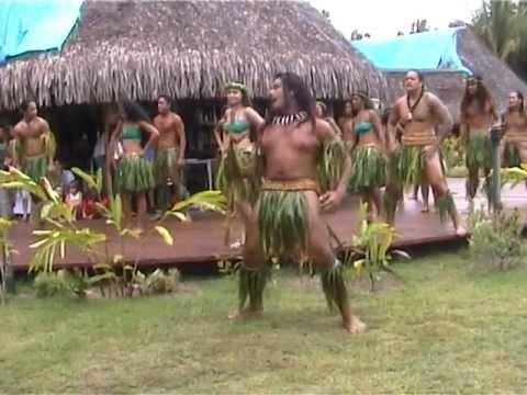 Danse haka des îles Marquises