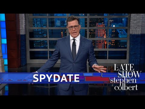 Stephen Colbert vs. Maria Butina of Russian Agent Had A Republican Boyfriend