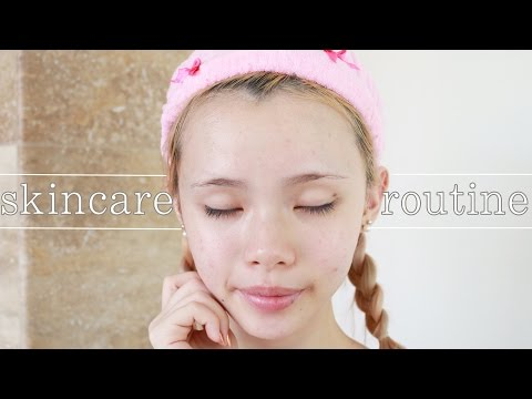 My Simple Skincare Routine for Sensitive Skin ♡ Face and Body ♡ Cruelty Free