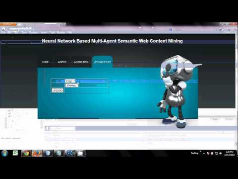 Neural Network Based Multi- Agent Semantic Web Content Mining