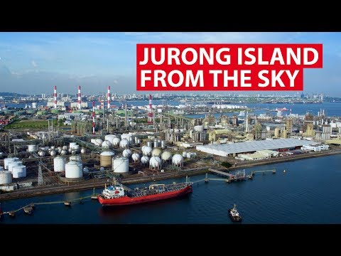 Jurong Island From The Sky | Aerial Singapore | CNA Insider