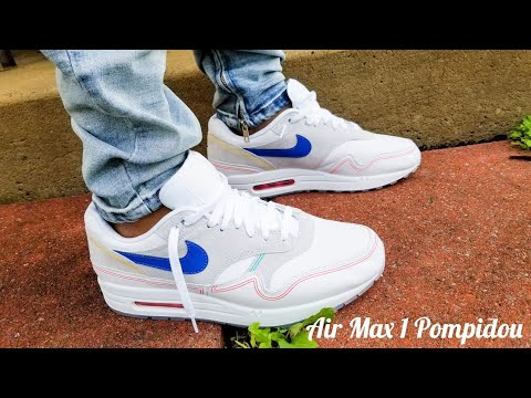 f49ff07a81efe Nike Air Max 1 Centre Pompidou On Feet Review!!!! - YouTube