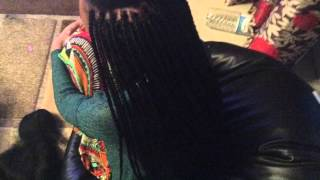 Protective style with box braids,how to get this long full and beautiful braids keep watching