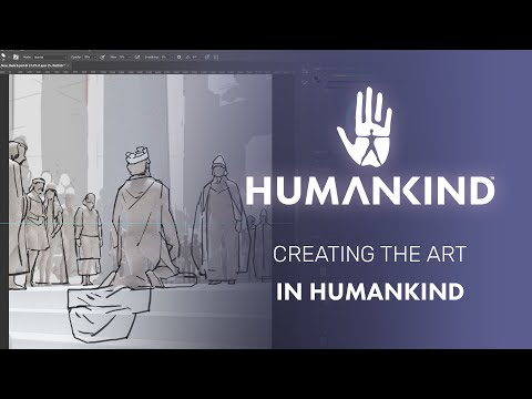 Creating The Art In Humankind With Senior Concept Artist - Lauris Stephani
