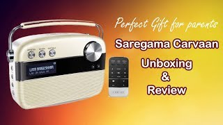 Saregama Carvaan Unboxing & Review Radio Details Sound Testing Music Player