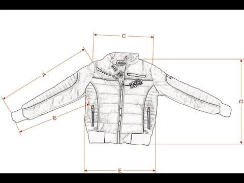 Как делать замеры одежды