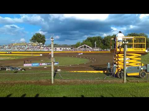 USA Nationals Late Model Hot Laps-Cedar Lake Speedway 2016