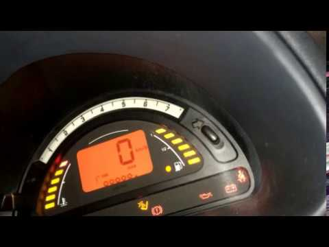 Citroen C3 - Service Intervall zurücksetzen / Service Counter Reset (to 30.000) Citroen C3
